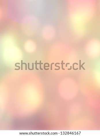 Light romantic background - stock photo