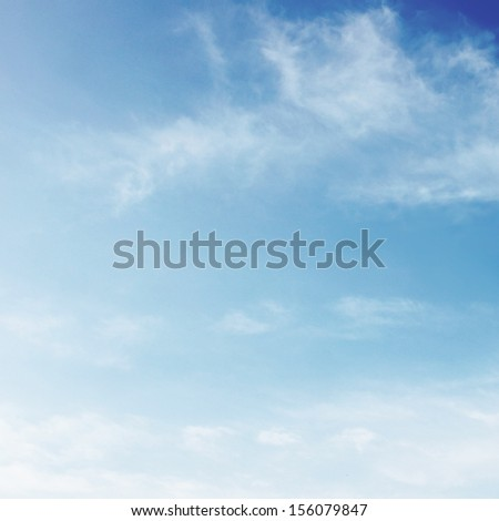 Light sky - stock photo