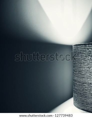 Light spill. Abstract. Fashion concept - stock photo