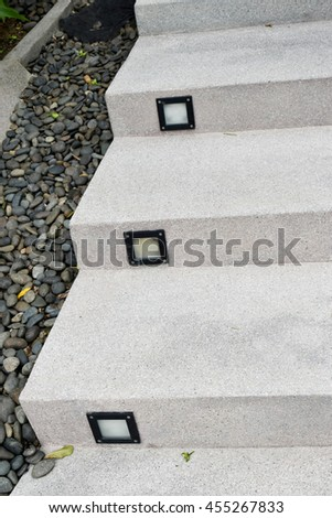 light step - stock photo
