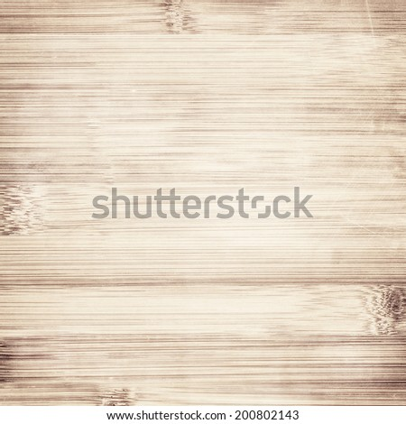 light striped brown bamboo texture - stock photo