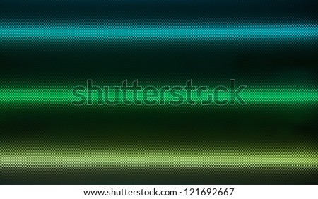 Light tubes with color and texture. - stock photo