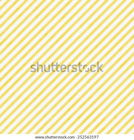 Light Yellow Striped Pattern Repeat Background that is seamless and repeats - stock photo