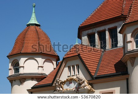 lighthouse in Sopot Poland - stock photo