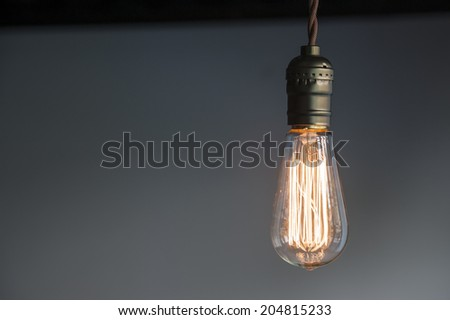 Lighting Decoration - stock photo