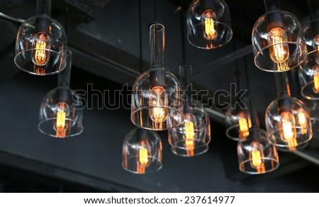 lighting decoration - stock photo
