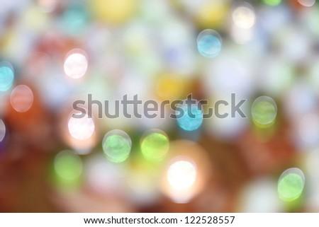 lights - stock photo