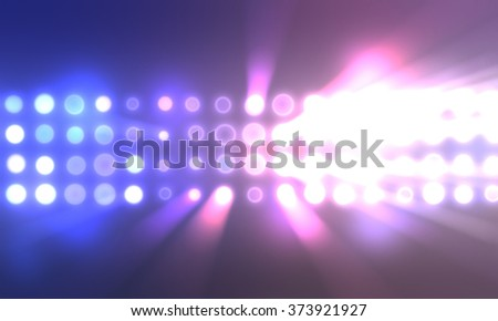 Lights Background - stock photo