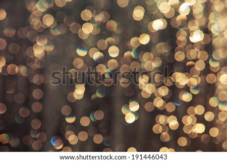 Lights Festive background - stock photo