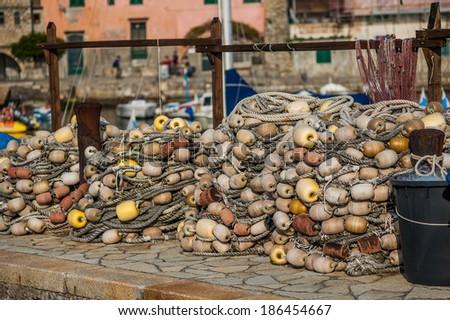 Ligurian sea - stock photo