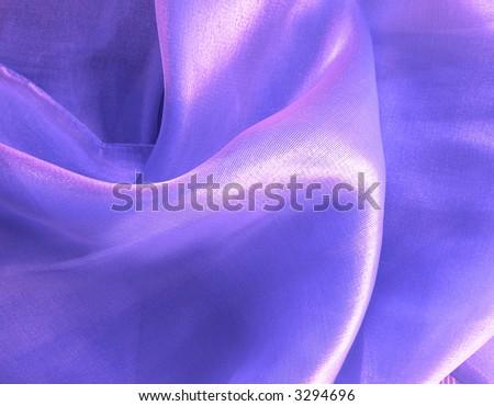 Lilac silk - texture - stock photo