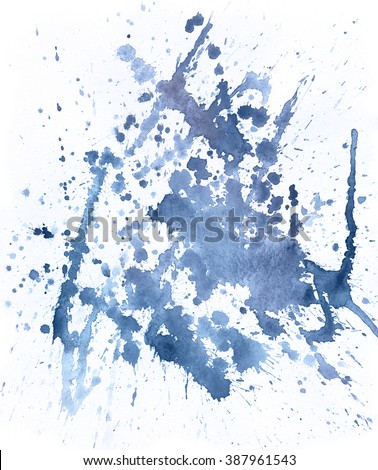 Lilac spot, watercolor abstract hand painted background. Serenity Tint Watercolour Texture. Pastel Colored Palette. - stock photo