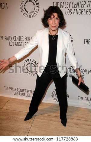 Lily Tomlin at PaleyFest 2012 Fall TV Preview: Malibu Country, Paley Center for the Media, Beverly Hills, CA 09-11-12 - stock photo