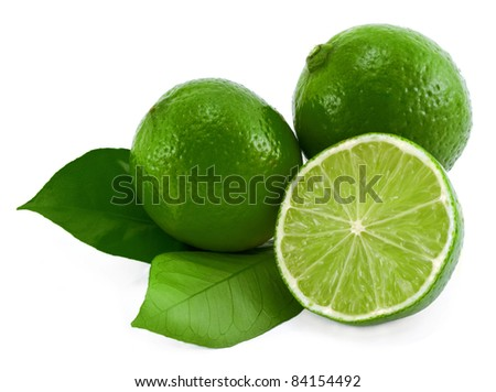 Limes. - stock photo