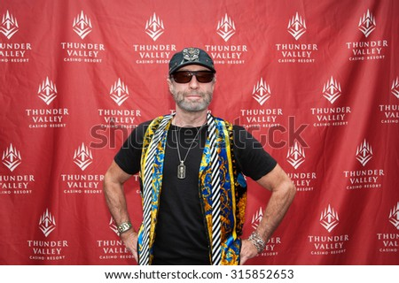 LINCOLN, CA - September 11: Paul Rodgers poses for Meet and Greet photos at Thunder Valley Casino Resort in in Lincoln, California on September 11, 2015 - stock photo