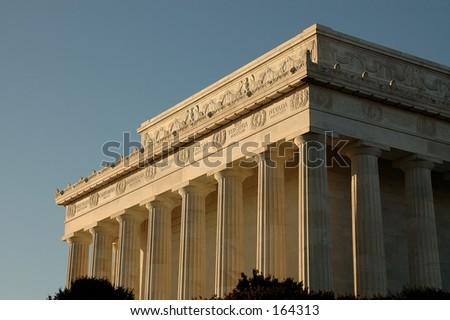 Lincoln Memorial, Washington DC - stock photo