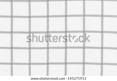 Lined black and white dinner clothes - stock photo