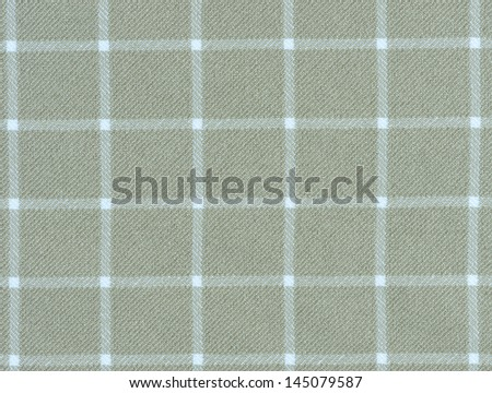 Lined brown and white dinner clothes - stock photo