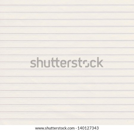 Lined paper background - stock photo