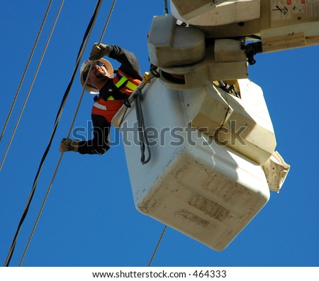 Lineman - stock photo
