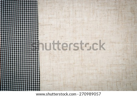 linen fabric for background - stock photo