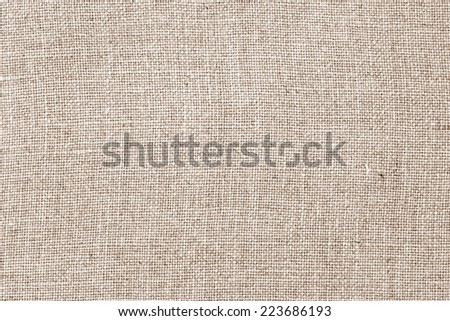 Linen fabric texture background - stock photo