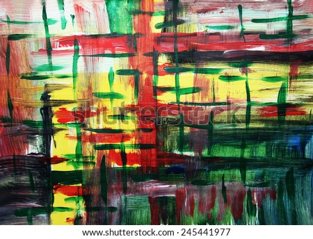 Lines colorful background, Scottish pattern or Creative background - stock photo