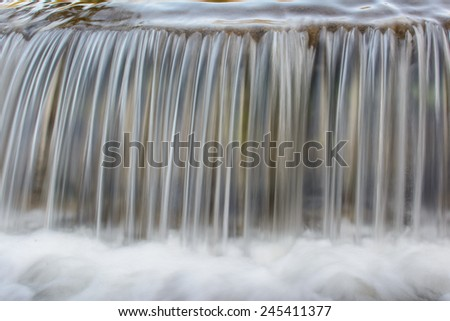 Lines of the Waterfalls - stock photo