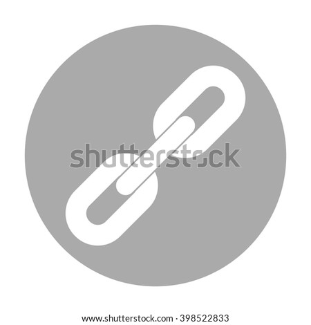 Link icon. - stock photo