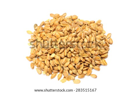 linseed  - stock photo