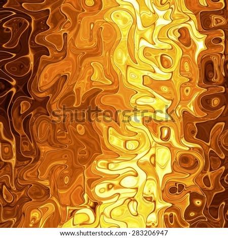 Liquid gold, luxury golden background - stock photo