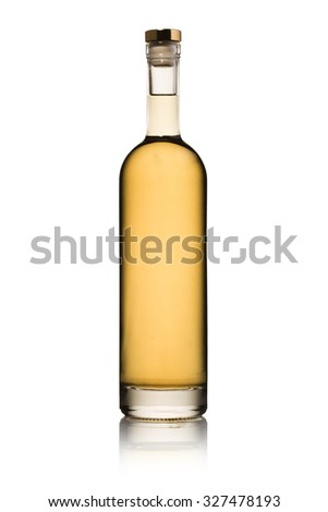 liquor bottle 3 - stock photo