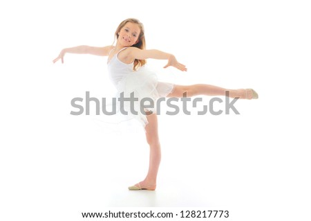 Little dancer - stock photo