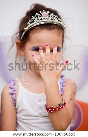 Little princess fairy - stock photo