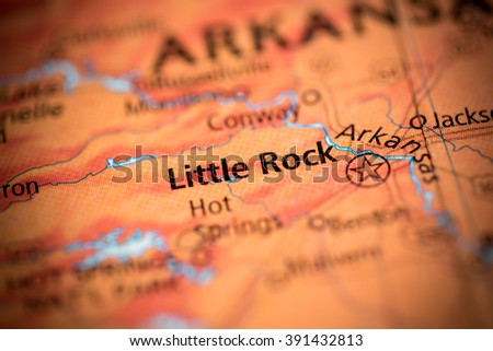 Little Rock. Arkansas. USA - stock photo