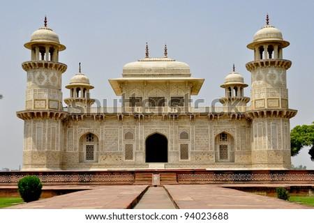 Little Taj Mahal - stock photo