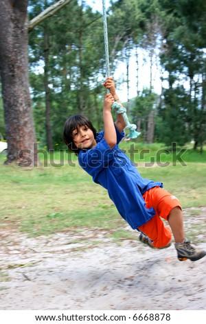 Little Tarzan - stock photo