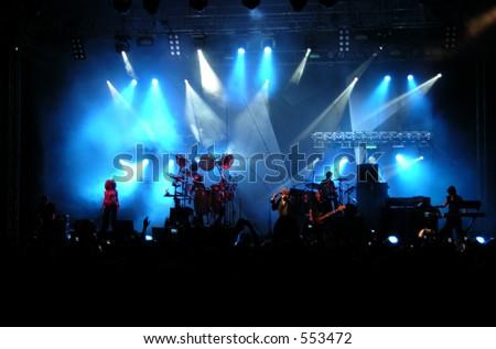 Live Concert - stock photo