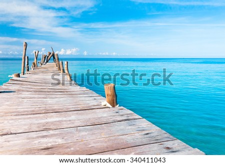 Living is Easy Path filled with Love  - stock photo
