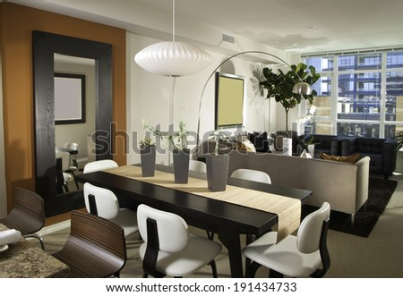 Living room Architecture Stock Images, Photos of Living room, Dining Room, Bathroom, Kitchen, Bed room, Office, Interior photography.  - stock photo