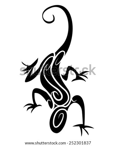 lizard tribal stock photos images pictures shutterstock. Black Bedroom Furniture Sets. Home Design Ideas