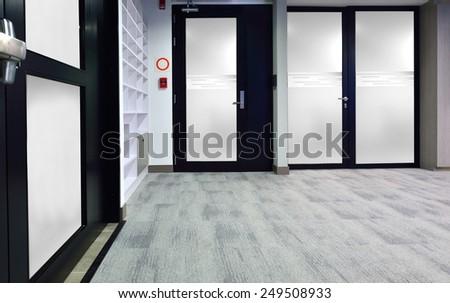 Lobby corridor. - stock photo