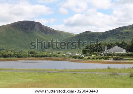 Lochranza - Isle of Arran - Scotland - stock photo