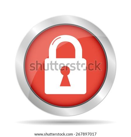 lock icon.   - stock photo