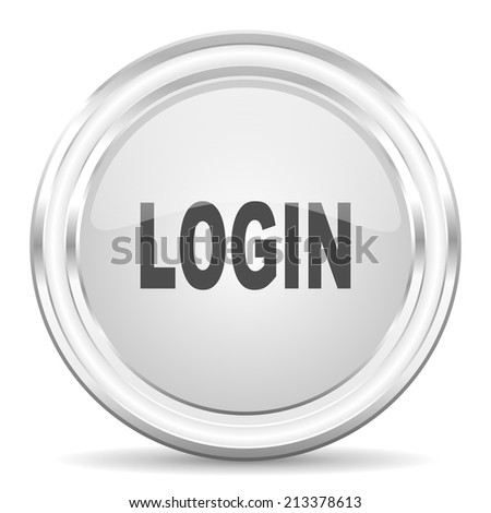 login internet icon - stock photo