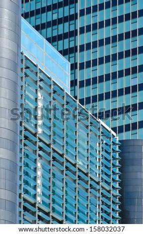 london buildings - stock photo