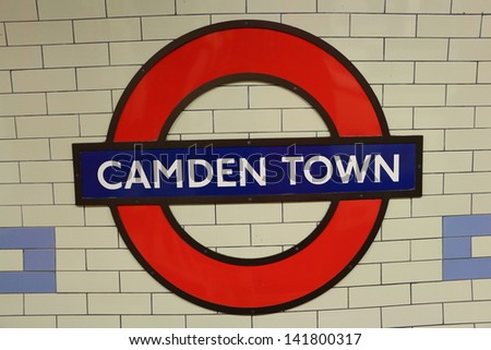 London - June 2nd: The Underground or the Tube is a metro system serving a large part of Greater London on June 2, 2013 - stock photo