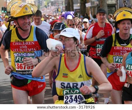 London Marathon 2007 - stock photo