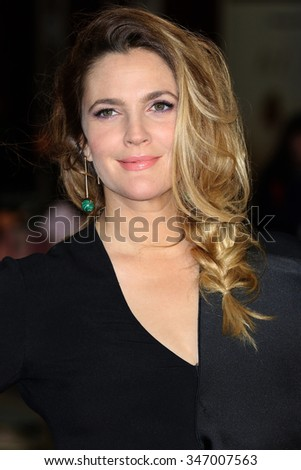 LONDON - SEP 17, 2015: Drew Barrymore attends the Miss You Already film premiere on Sep 17, 2015 in London - stock photo
