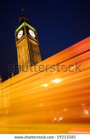 London series 3. Big ben 2. - stock photo